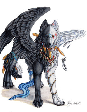 Howling Winged_Twilight_by_Lyanti